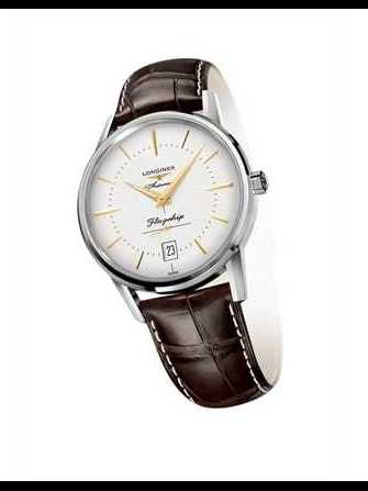 Longines Flagship Heritage L4.795.4.78.2 Watch - l4.795.4.78.2-1.jpg - 4him