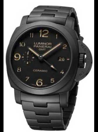 Panerai Luminor 1950 3 Days GMT ceramic PAM 438 Watch - pam-438-1.jpg - antonio8