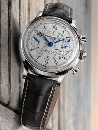 Baume & Mercier Chronograph Capeland Flyback 10006 Watch - 10006-1.jpg - blink
