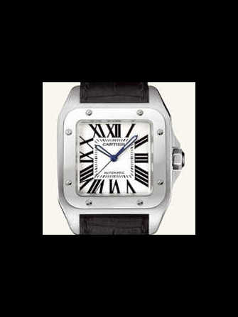 Cartier Santos 100 W20073X8 Watch - w20073x8-1.jpg - blink