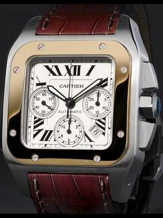 Cartier Montre santos 100 W20091X7 Watch - w20091x7-1.jpg - blink