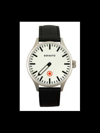 Defakto Eins Eins Steel White Watch - eins-steel-white-1.jpg - blink