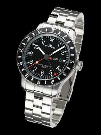 Fortis B-42 Official Cosmonauts Day/Date GMT 3 Time zones 649.10.11M Watch - 649.10.11m-1.jpg - blink