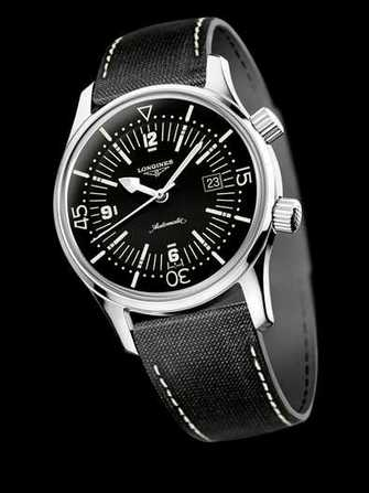 Longines Legend Diver Date L3.674.4.50.0 Watch - l3.674.4.50.0-1.jpg - blink