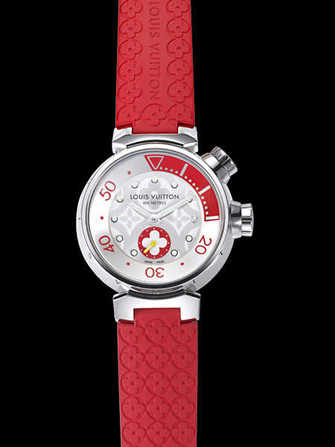 Louis Vuitton Tambour diving Lady Poppy Q131V0 Watch - q131v0-1.jpg - blink