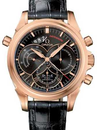 Omega DeVille Coaxial rattrapante 4648.50.31 Watch - 4648.50.31-1.jpg - blink