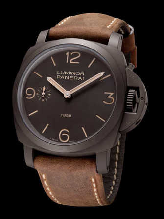 Panerai Luminor 1950  Composite 3 Days PAM 375 Watch - pam-375-1.jpg - blink