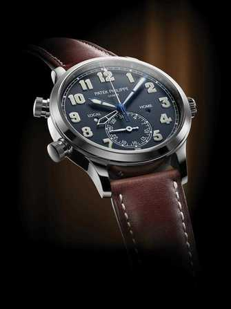 Patek Philippe Pilot Travel Time 5524 Watch - 5524-1.jpg - blink