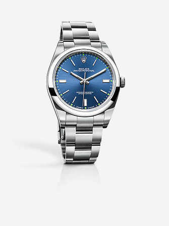 Rolex Oyster Perpetual 144300-blue Watch - 144300-blue-1.jpg - blink