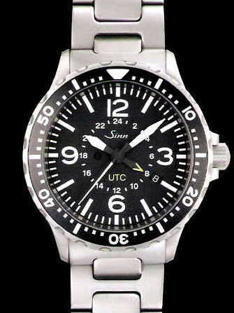 sinn 857 utc watch stainless steel 857