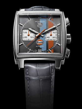 Montre TAG Heuer Monaco Calibre 12 Chronograph Gulf CAW2113.FC6250 - caw2113.fc6250-3.jpg - blink