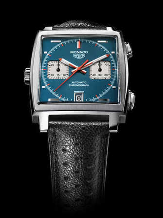 TAG Heuer Monaco Calibre 11 40th Anniversary CAW211a.eb0025 Watch - caw211a.eb0025-1.jpg - blink