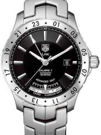 Montre TAG Heuer Link Calibre 7 Advanced GMT WJ2010 - wj2010-1.jpg - blink