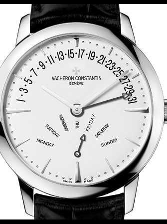 Vacheron Constantin Patrimony Date et jour retrogradants 86020/000G-9508 Watch - 86020-000g-9508-1.jpg - blink