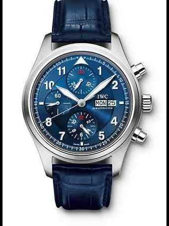 IWC Pilot Chrono Limited Edition Laureus IW371712 Watch - iw371712-1.jpg - exonico