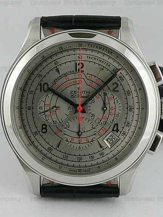 Zenith Zenith Class Dark Silver chrono 03-0520-400-73-C643 Watch - 03-0520-400-73-c643-1.jpg - hsgandalf