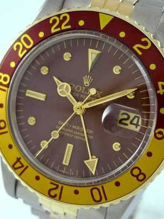 Rolex GMT Master 1675 Root Beer Watch - 1675-root-beer-1.jpg - kmrol