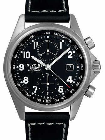 Glycine Combat Chronograph 3838.19AT-LB9 Watch - 3838.19at-lb9-1.jpg - lorenzaccio