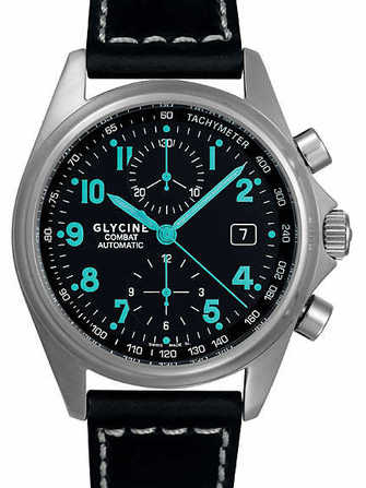 Glycine Combat Chronograph 3838.19AT8-LB9R Watch - 3838.19at8-lb9r-1.jpg - lorenzaccio