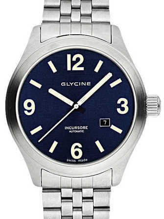 Glycine Incursore III 44mm Automatic 3900.18-MB Watch - 3900.18-mb-1.jpg - lorenzaccio