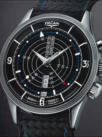 Vulcain Nautical Vulcain Trophy - Steel 100107.024VT Watch - 100107.024vt-1.jpg - lorenzaccio