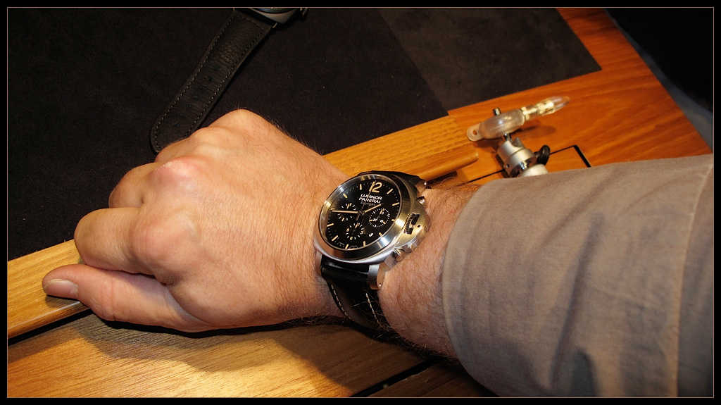 Купить часы panerai luminor chrono daylight инструкция по применению