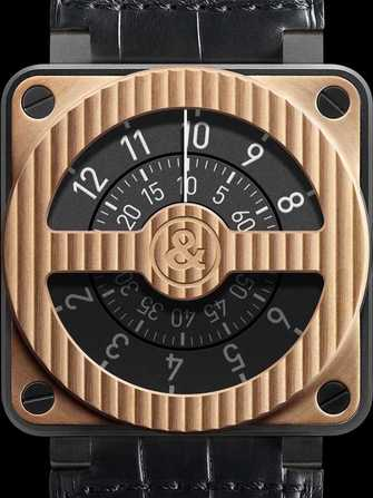 Bell & Ross Aviation BR 01-92 Compass Rose Gold & Carbon Watch - br-01-92-compass-rose-gold-carbon-1.jpg - mier