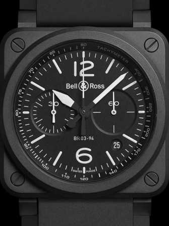 Bell & Ross Aviation BR 03-94 Black Matte Watch - br-03-94-black-matte-1.jpg - mier