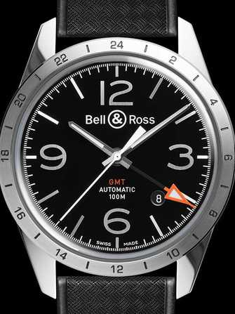 Bell & Ross Vintage BR 123 GMT 24H Watch - br-123-gmt-24h-1.jpg - mier