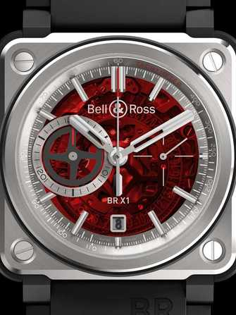 Bell & Ross Aviation BR-X1 Red Boutique Edition Watch - br-x1-red-boutique-edition-1.jpg - mier