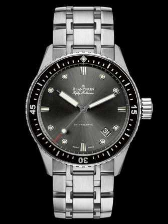 Blancpain Fifty Fathoms Bathyscaphe 5000-1110-70B Watch - 5000-1110-70b-1.jpg - mier