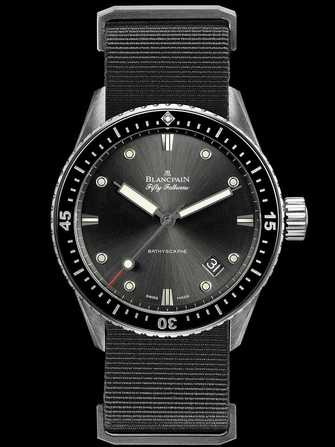 Blancpain Fifty Fathoms Bathyscaphe 5000-1110-NABA Watch - 5000-1110-naba-1.jpg - mier