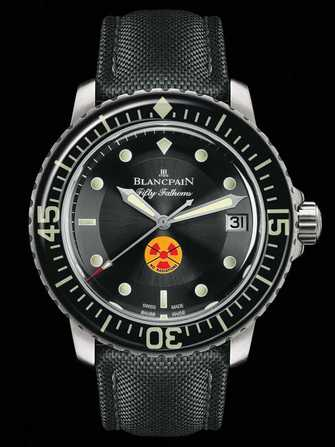 Blancpain Fifty Fathoms Tribute to Fifty Fathoms 5015B-1130-52 Watch - 5015b-1130-52-1.jpg - mier