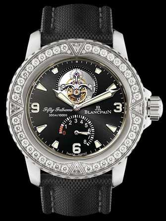Blancpain Fifty Fathoms Tourbillon 8 Jours 5025-9430-52A Watch - 5025-9430-52a-1.jpg - mier