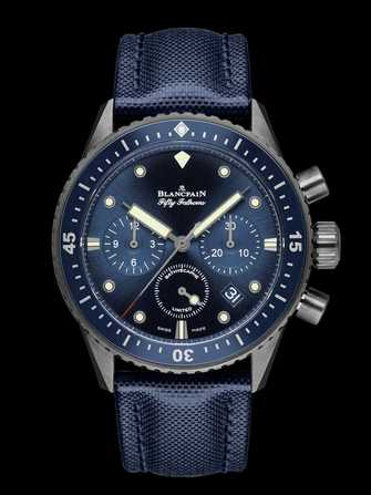Blancpain Fifty Fathoms Bathyscaphe Chronographe Flyback Ocean Commitmen 5200-0240-52A Watch - 5200-0240-52a-1.jpg - mier