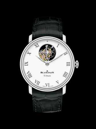 Blancpain Villeret Tourbillon Volant Une Minute 12 Jours 66240-3431-55B Watch - 66240-3431-55b-1.jpg - mier