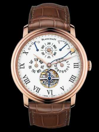 Blancpain Villeret Équation du Temps Marchante 6638-3631-55B Watch - 6638-3631-55b-1.jpg - mier