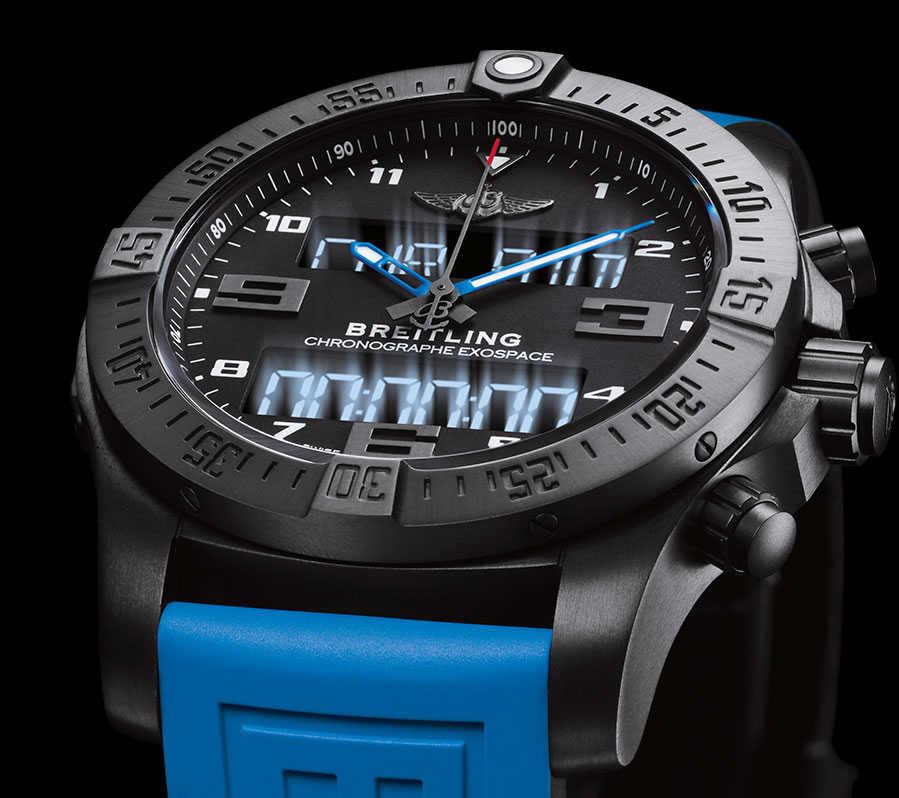 Компания breitling тоже представила работающие часы, но в виде прототипа, так что внешний вид конечного продукта будет заметно отличаться, от того, чтобы было показано во время baselworld.