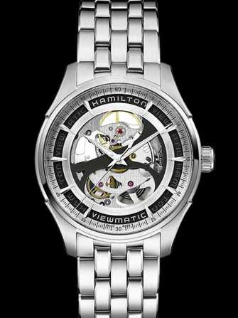 Hamilton Jazzmaster Viewmatic Skeleton Gent Auto H42555151 Watch - h42555151-1.jpg - mier