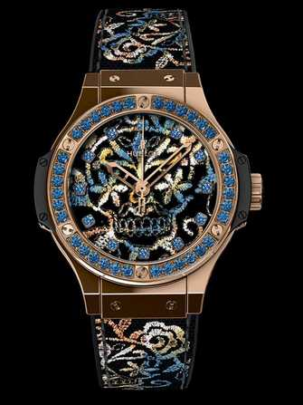 Hublot Big Bang Broderie Sugar Skull Gold 343.PS.6599.NR.1201 Watch - 343.ps.6599.nr.1201-1.jpg - mier