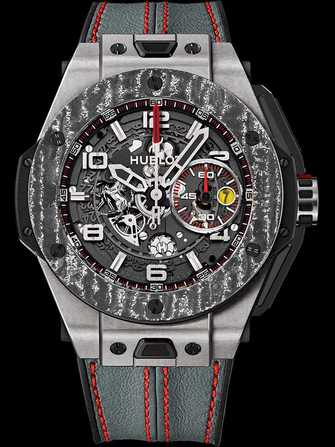 Hublot Big Bang Ferrari Titanium Carbon 401.NJ.0123.VR Watch - 401.nj.0123.vr-1.jpg - mier