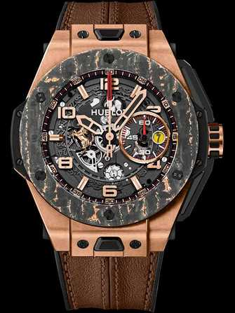 Hublot Big Bang Ferrari King Gold Carbon 401.OJ.0123.VR Watch - 401.oj.0123.vr-1.jpg - mier