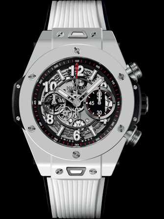 Hublot Big Bang Unico White Ceramic 411.HX.1170.RX Watch - 411.hx.1170.rx-1.jpg - mier