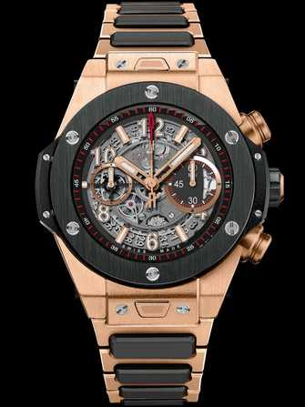 Hublot Big Bang Unico King Gold Ceramic Bracelet 411.OM.1180.OM Watch - 411.om.1180.om-1.jpg - mier