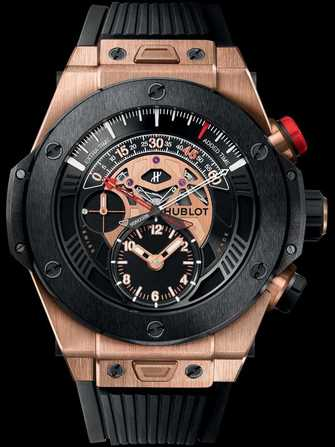 Hublot Big Bang Unico Bi-Retrograde Chrono King Gold Ceramic 413.OM.1128.RX Watch - 413.om.1128.rx-1.jpg - mier