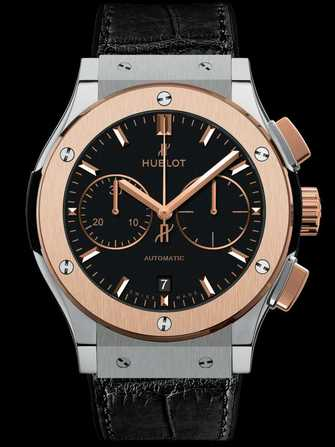 Hublot Classic Fusion Chronograph Titanium King Gold 521.NO.1181.LR Watch - 521.no.1181.lr-1.jpg - mier