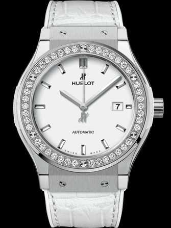 Hublot Classic Fusion Titanium White Diamonds 542.NE.2010.LR.1204 Watch - 542.ne.2010.lr.1204-1.jpg - mier