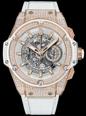 Hublot King Power Unico King Gold White Pavé 701.OE.0128.GR.1704 Watch - 701.oe.0128.gr.1704-1.jpg - mier