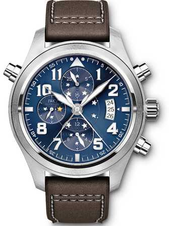 "IWC Pilot's Watch Double Chronograph Edition ""Le Petit Prince"" IW371807 Watch - iw371807-1.jpg - mier"