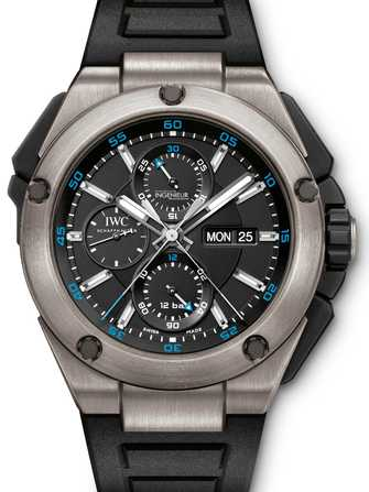 IWC Ingenieur Double Chronograph Titanium IW386503 Watch - iw386503-1.jpg - mier